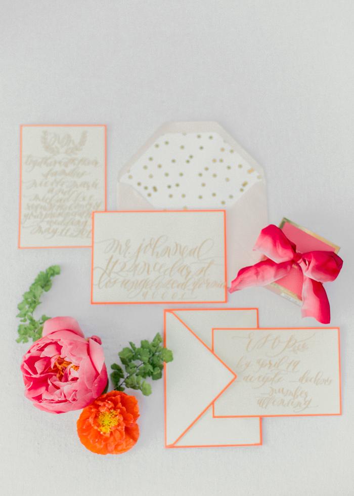 summer-bright-orange-coral-pink-wedding-ideas-1