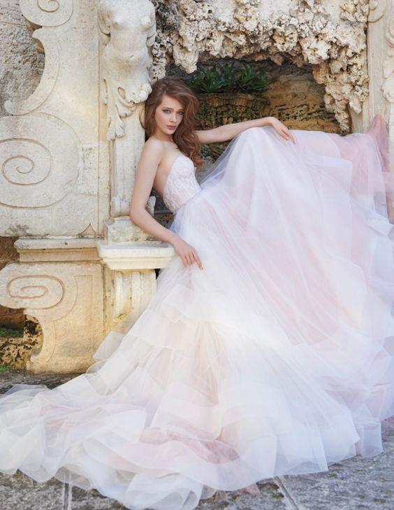 pastel-ombre-ball-gown-wedding-dress-via-tara-keely